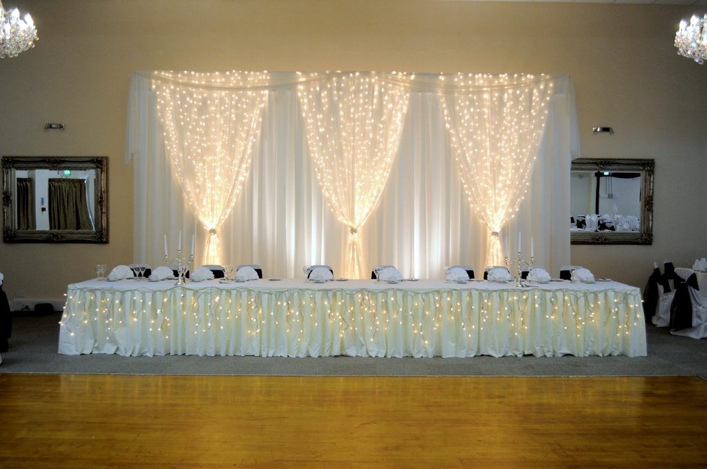 top table backdrop for wedding reception in hertfordshire wedding