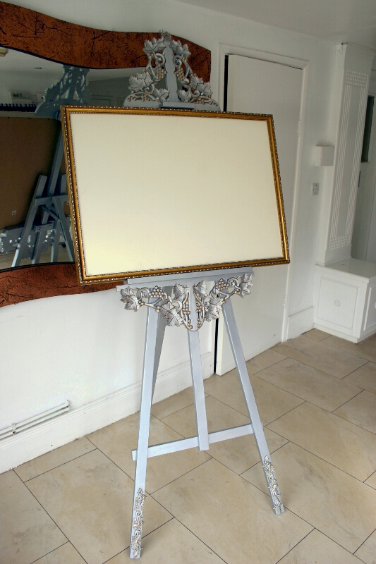 Wedding Easel For Table Planner / Menu | Wedding DJ Hertfordshire