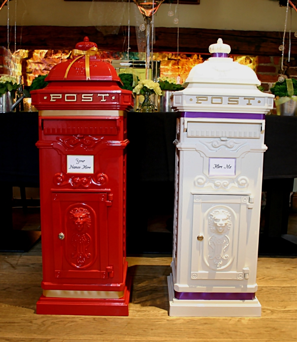 White Wedding Post Box: Wishing Well And Postbox For Wedding In Hertfordshire